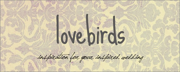 Love Birds - Daily Wedding Inspiration