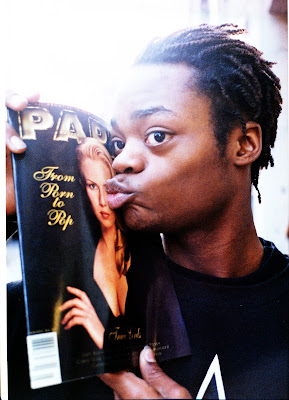 Harold Hunter showing love to Paper with a little extra for Traci Lords.