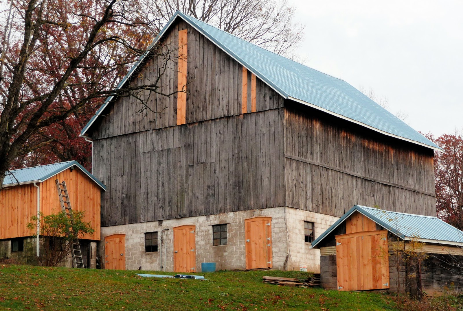 Wild rose farm barn renovation for Barn renovation