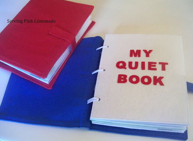Quiet Book Template
