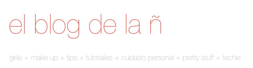 el blog de la ñ by @metrapach
