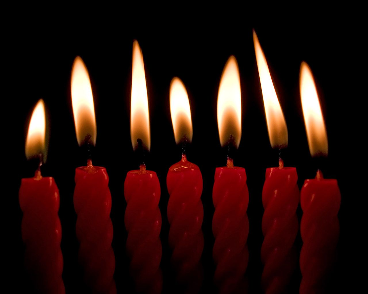 hd wallpapers 7 candles