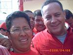 Diosdado Cabello e Ingrid Sanchez