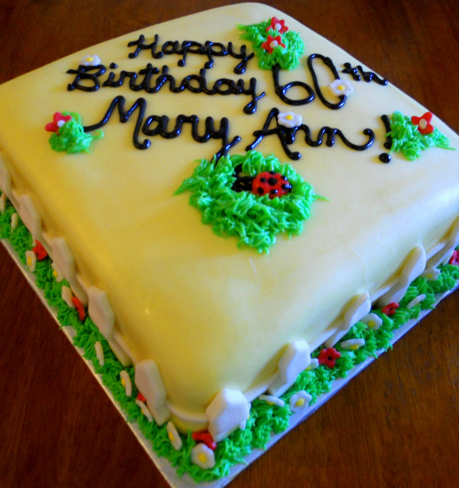 Lins Kitchen Mary Anns 60th Birthday