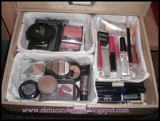 Mueble de maquillaje