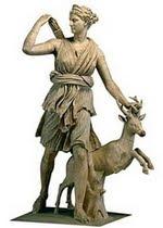 Artemisa / Diana, diosas (griega y romana) de la caza