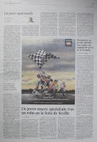 por ejemplo, El País, 2 de mayo 2009