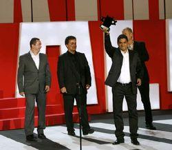Carlos César Albeláez y los productores