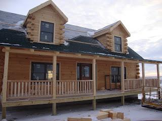 Maine Built Log Cabins