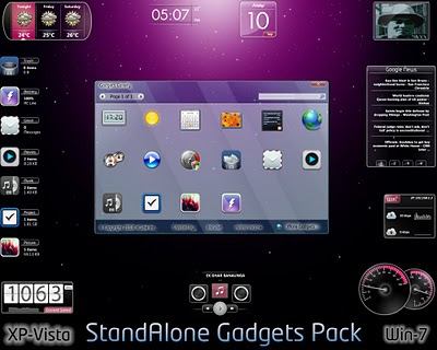 Download StandAlone Gadgets Pack