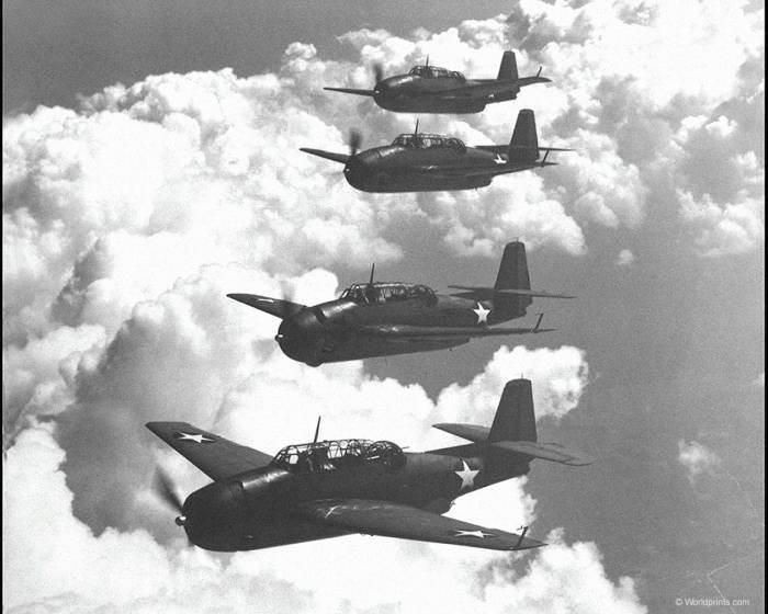 Aviones aliados