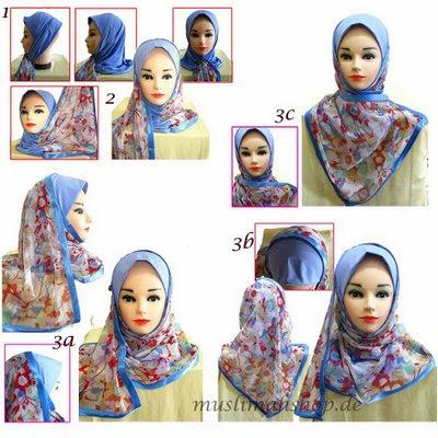 beautiful muslimah guide how to wear mona kuwaiti hijabs. Black Bedroom Furniture Sets. Home Design Ideas