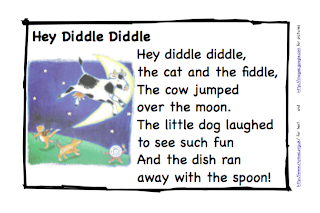 Preschool Is Fun Planning Activities: Hey Diddle Dish and Spoon ...