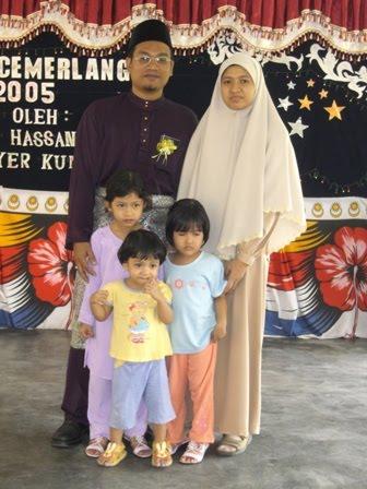 Keluarga Cikgu Nor Arif