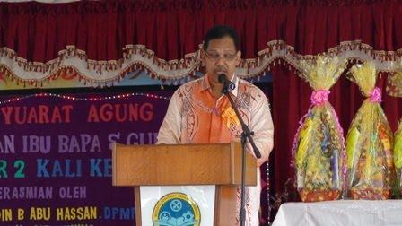 En Mohd Adnan , Md Ishaq ( Mantan YDP PIBG )
