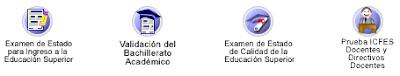 Exámenes Aplicados por el Icfes: Ingreso a la Educación Superior, Validación, ECAES, Pruebas a Docentes y Directivos