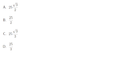 Opciones de respuesta Ejercicio Angulos de Elevacion Trigonometria