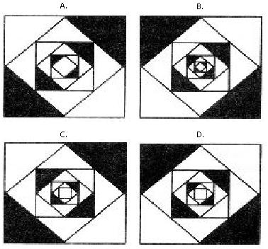 Secuencias Matemáticas de Figuras Suceciones Gráficas Opciones de Respuesta