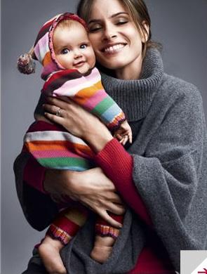 Actress Zoe Saldana and her