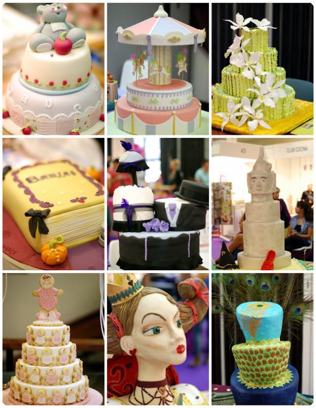 Algunas de las tartas del SUGAR10 - VelocidadCuchara.com