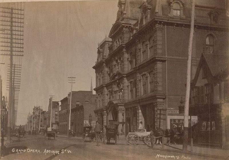Toronto then and now 14 ambrose small and toronto 39 s for Adelaide house