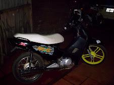 Vinilo sobre moto