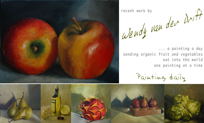 A Painting a Day ... Wendy van der Drift ... Daily Painter ... Painting Daily