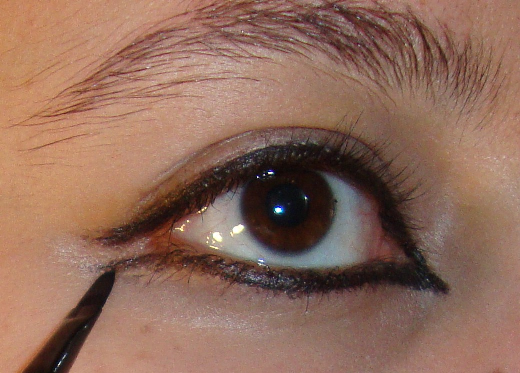 Makeup Tabby: Dramatic Arabic Eyes, Step by Step with Pictures