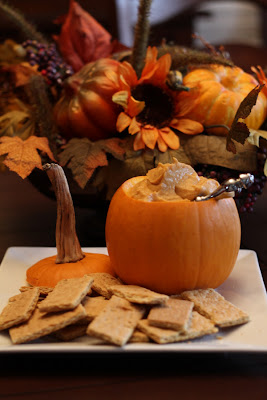 recipes, dip, pumpkin, graham crackers