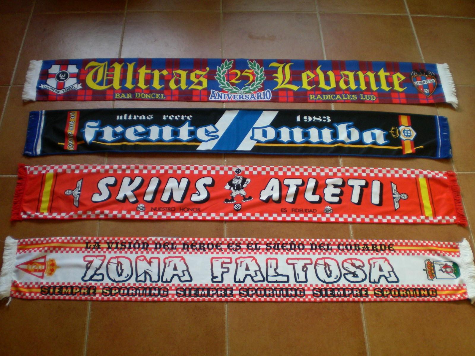 BUFANDAS ULTRAS NACIONALES DE RASO