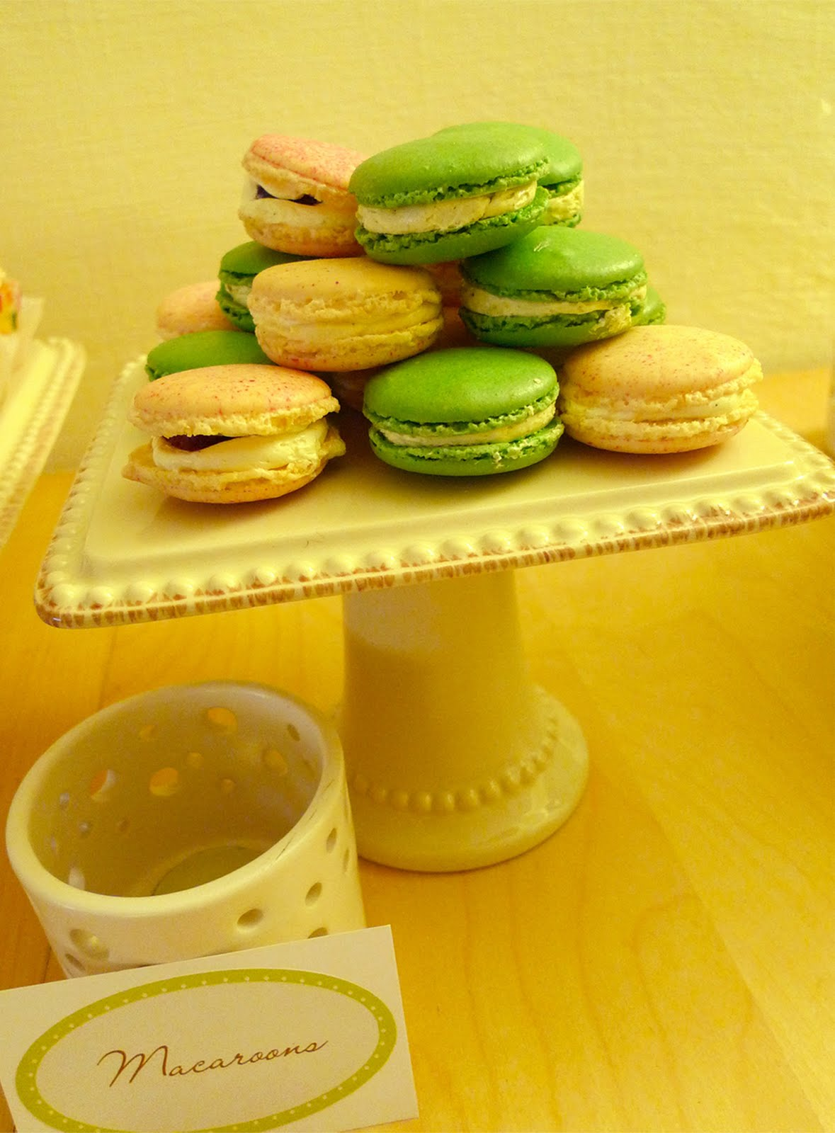 Images Little House Dreams Dessert Table Green And Ivory Bridal