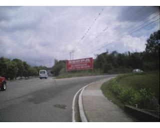 Desde la carretera