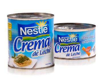 leche de crema: