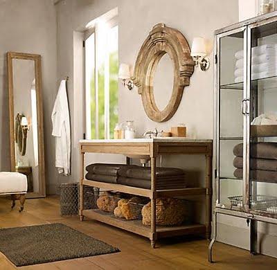 Vintage Girl Beautiful Bathrooms
