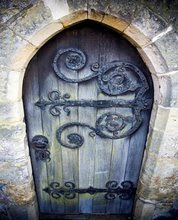 Door to my secret garden