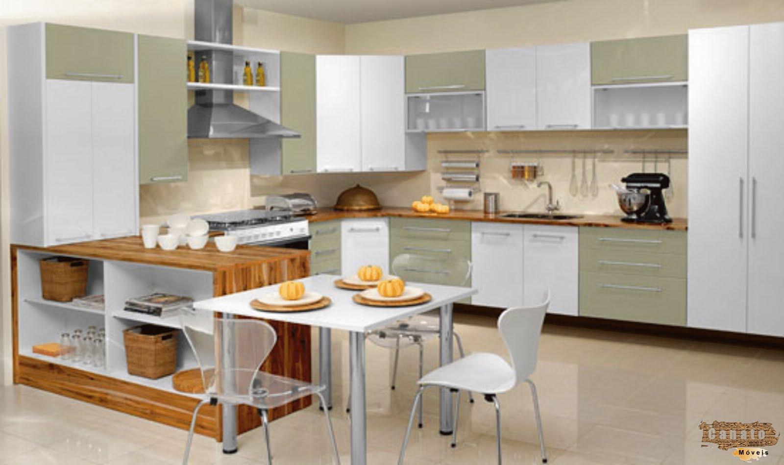 Cozinhas Planejadas Pequenas Fotos De Decora&231&227o Casas #BE7B0D 1600 949