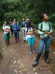 Trabalho de Campo Parque Ecológico Municipal Rego dos Carrapatos - Nova Lima/MG
