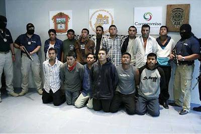 Cártel de Sinaloa, miembros detenidos en México