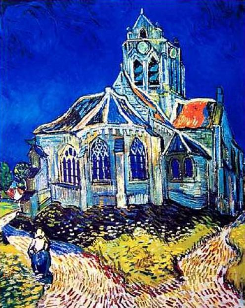 ... LANE: Doctor Who: Vincent and the Doctor - The Church at Auvers
