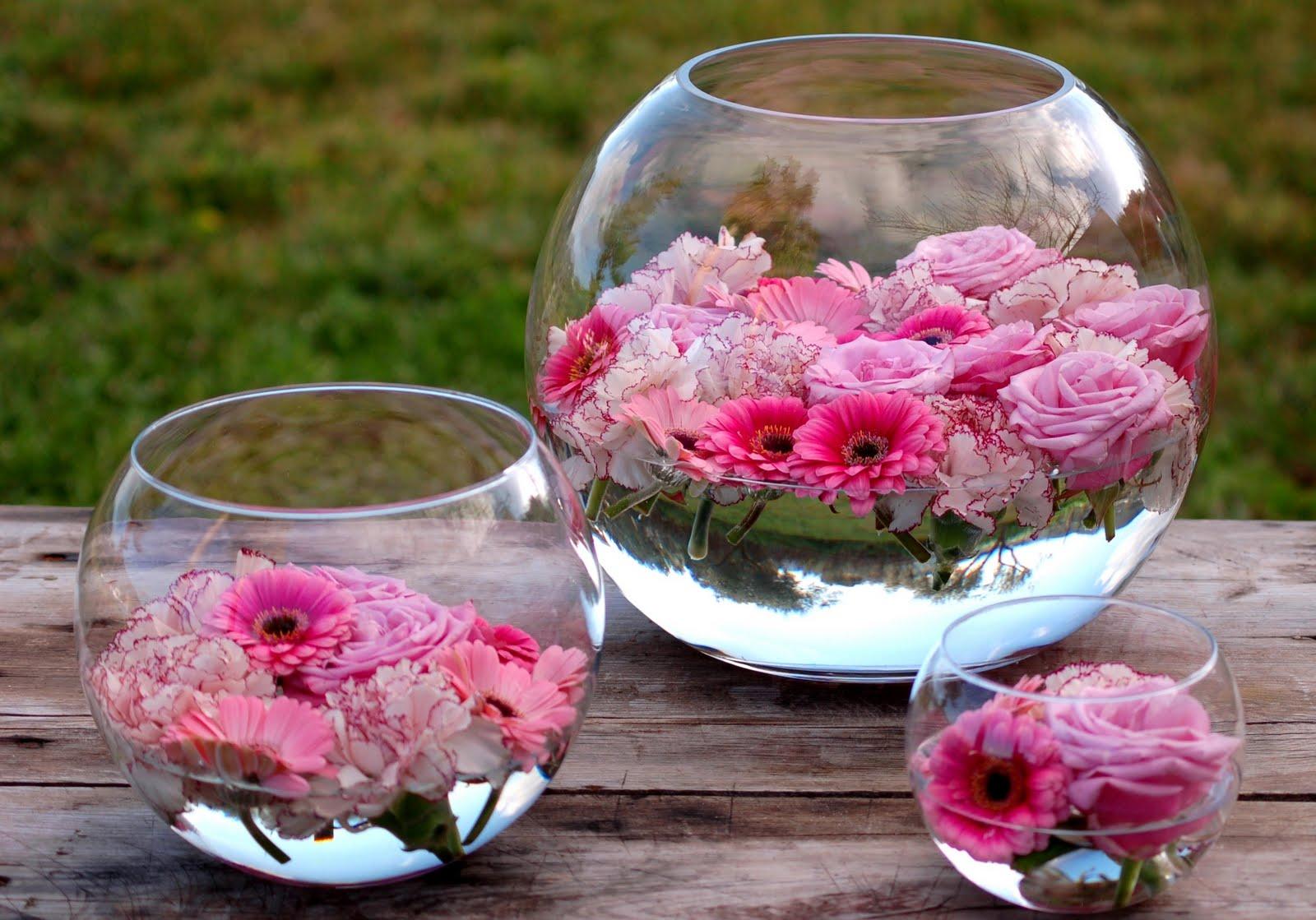 Aurea flores peceras rosas pink fish tank - Decoraciones de peceras ...