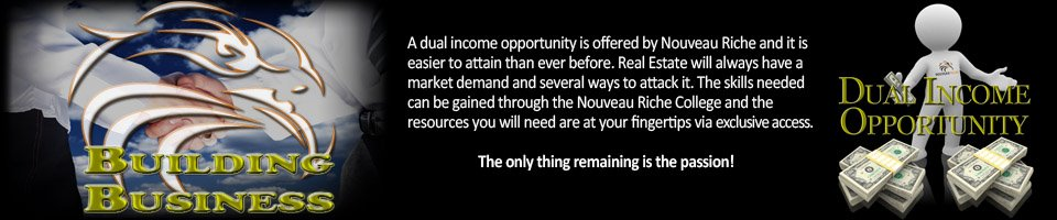 Nouveau Riche Opportunity in Entrepreneurialism