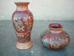 Florero Estilo Sirena y Vasija