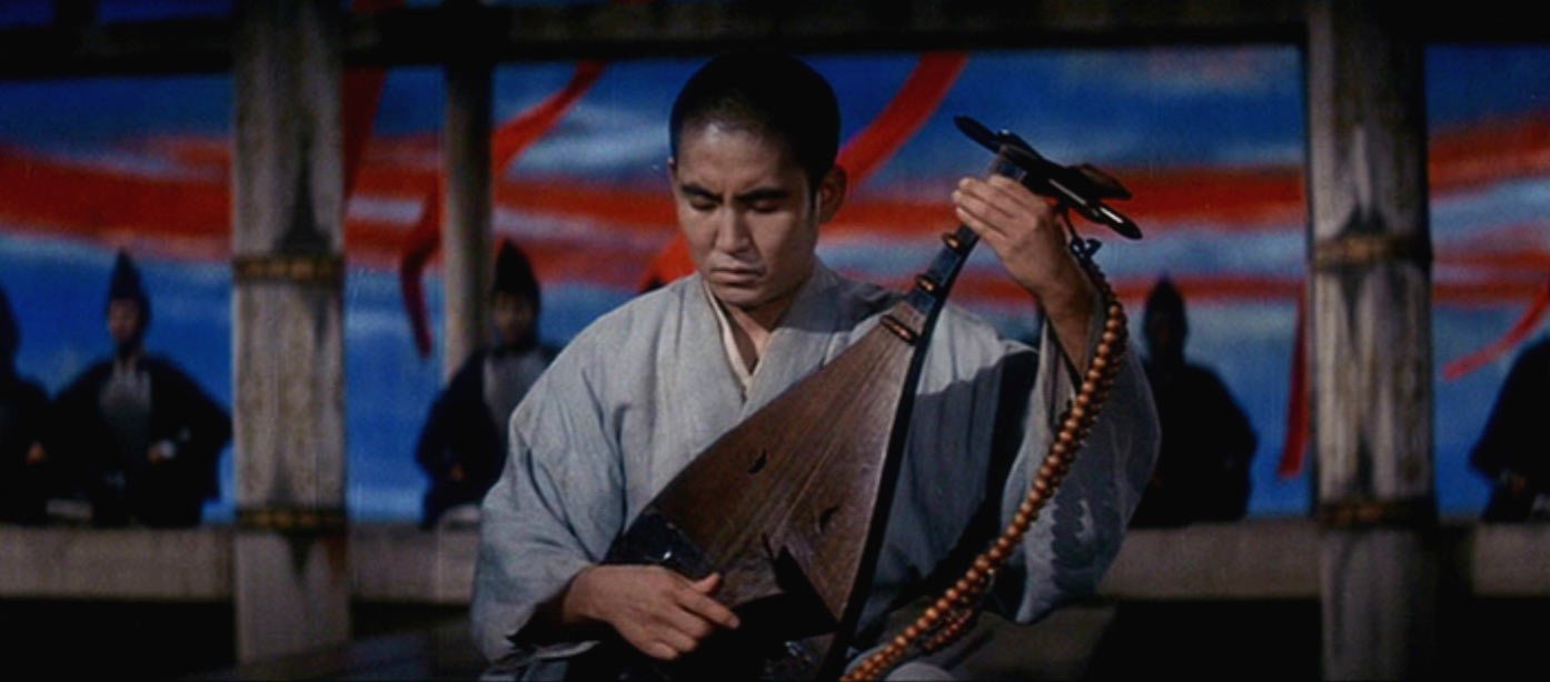 both images are of katsuo nakamura in kwaidan kaidan 1965 toho co ltd    Kwaidan