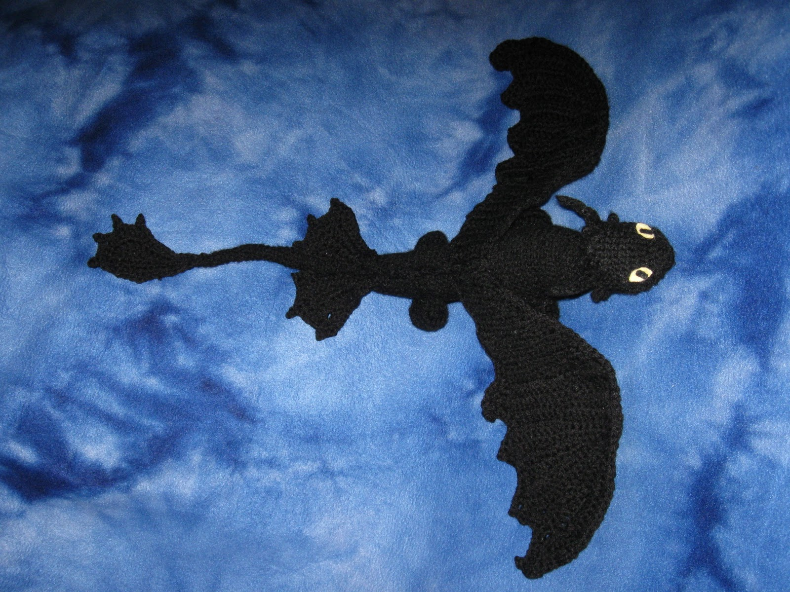 Mostly Nerdy Crochet Presenting Toothless