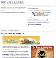John Chow won't you please turn on your Feedburner email subscriber option?