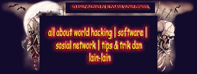 gembel hacker poenya