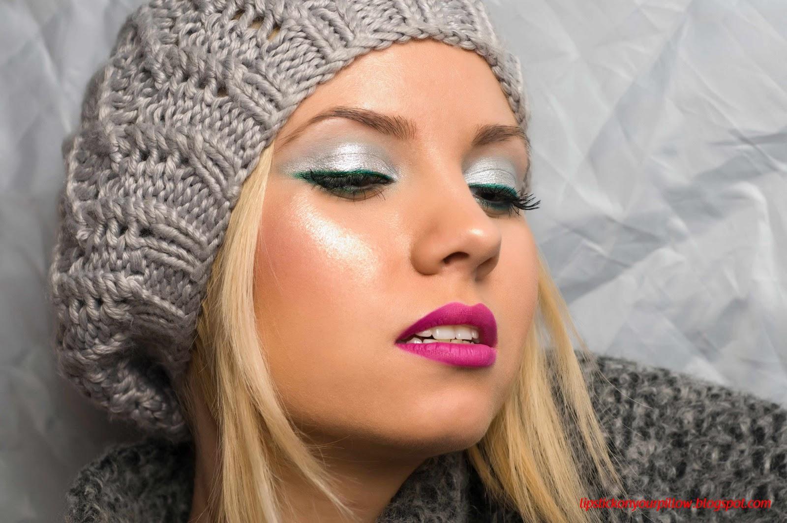 Winter Inspired Makeup Look
