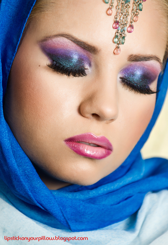 arabic makeup looks. Sultry Arabic Makeup Look