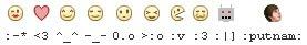 bilinmeyen facebook smileyleri