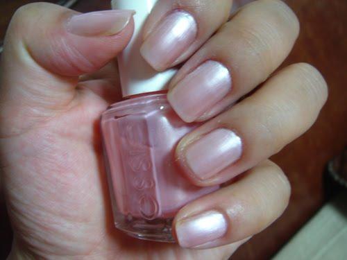 Essie Pink Diamond Swatch